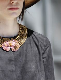 LIZZIE FORTUNATO  Cosmic View Necklace II | how baus is this!