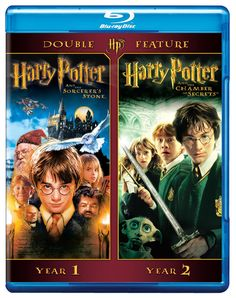 Amazon.com: Harry Potter Double Feature: Harry Potter and the Sorcerer's Stone / Harry Potter and the Chamber of Secrets [Blu-ray]: Daniel Radcliffe, Rupert Grint, Emma Watson, Robbie Coltrane, Alan Rickman, Maggie Smith, Chris Columbus: Movies & TV