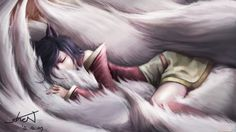 215 Ahri (League Of Legends) Papéis de Parede HD | Planos de Fundo