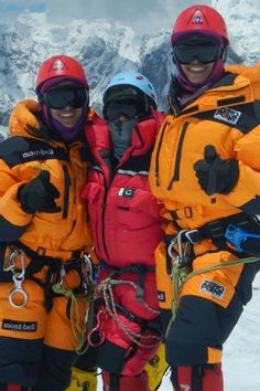 How twins Nungshi and Tashi Malik, members of the 2015 Department of State and espnW Global Sports Mentoring class, overcame gender bias to become two of the world's most accomplished climbers. Mountaineering, Climbers, Indian Girls, Twins, Gender, Sisters, Sports, Women, Hs Sports