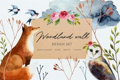 Woodland walk by Youksy on @creativemarket