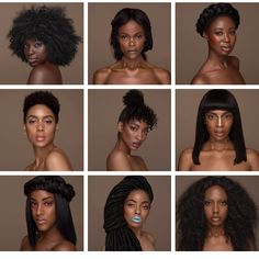 """The """"Colored"""" Girl Campaign (Team/Models) www.2FroChicks.com YouTube.com/2FroChicks #2FroChicks #NaturalHair…"""