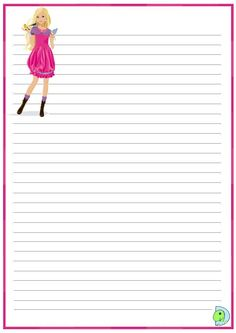 Printable Lined Paper, Free Printable Stationery, Scrapbook Da Disney, Bullet Journal Weekly Layout, Memo Notepad, Diy And Crafts, Paper Crafts, Hello Kitty My Melody, Romance Art
