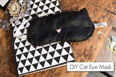 DIY Cat Eye Mask by Stacie Stacie Stacie, via Flickr