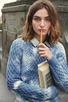 Andreea Diaconu by Cass Bird Vogue.Com  Editorial Ivy League Fashion Editor: Jorden Bickham (October 2014)