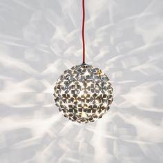 Terzani Ortenzia / Hängeleuchte 11 cm / Nickel / Hängelampe