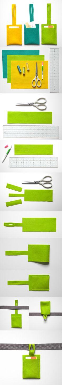 Colorida etiqueta para marcar equipajes