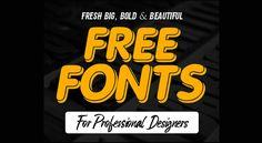 Download Big, Bold and Beautiful Headline Free Fonts
