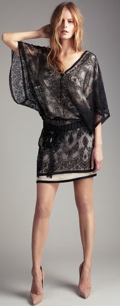 Lace is always a good idea ! #lace