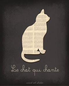 Le Chat qui chante