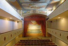 Teatro da Beneficencia. Una joyita escondida en Ortigueira.