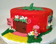 Strawberry+Shortcake+Birthday+Cake++Flickr+Photo+Sharing