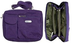 Large Purple Wallet Bag