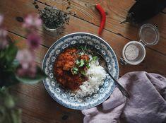 Karins vegetariska linsgryta med kokosmjölk - Emmas VintageEmmas Vintage