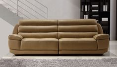 Fanelli Large Leather Sofa - 4 Seater - Delux Deco 1,125.00