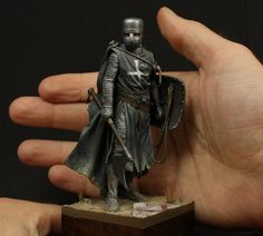 """Knight Hospitaller, XIII century by Oliver """"HonourGuard"""" Späth · Putty&Paint"""