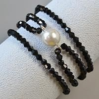 Do you need a pearl and glass bead bracelet? Then this Pandahall tutorial on how to make chic white pearl bead bracelet with black glass beads will surprise you.