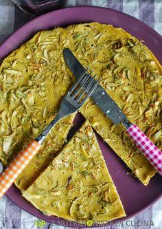 Q B Le ricette light: Farinata ai carciofi in padella