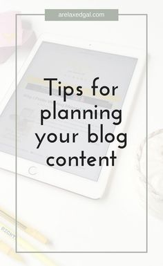 Planning content for your blog can be daunting and overwhelming. Don't despair, read my content planning tips instead | A Relaxed Gal: Hair + Beauty + Blogging + Finance