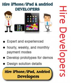 Mobile app development company based in India offers custom iPhone application development, iPad app development and Android application development solutions with affordable cost. Hire our iPhone developers to get high quality apps and games for iOS devices.