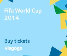 http://www.viagogo.com/Sports-Tickets/FIFA-World-Cup-2014?AffiliateID=1953&PCID=AFFUSNAFFCOJU74C474E18F  The 2014 FIFA Football World Cup, in Brazil, will see teams including Spain, Germany, United States, Japan, Australia and Argentina, compete to become world champions. The beautiful cities of Rio De Janeiro, Sao Paulo, Brasilia and others host all the games from Groups to Finals. viagogo has tickets to every game and you can buy your tickets with confidence, with the viagogo guarantee.