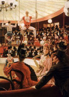 Women of Paris - The Circus Lover - James Tissot - 1883 - France