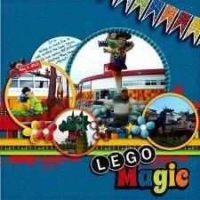 Lego - MouseScrappers - Disney Scrapbooking Gallery | Disney Scrapbooks | Disney Scrapbooking | Disney Scrapbooking Layouts | Disney Scrapbook Ideas | Disney Scrapbooking Ideas |