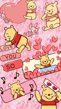 ideas wallpaper iphone quotes friends winnie the pooh Cartoon Wallpaper Iphone, Disney Phone Wallpaper, Bear Wallpaper, Kawaii Wallpaper, Cute Cartoon Wallpapers, Disney Doodles, Cute Winnie The Pooh, Winne The Pooh, Cute Disney Drawings