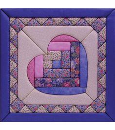 "Heart Quilt Magic Kit-12""X12"""