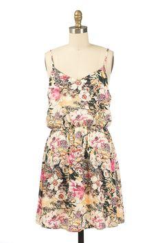 Scarlet Print Dress
