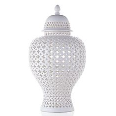 Ceramic Filigree Jar | Canisters | Decorative Accessories | Accessories | Decor | Z Gallerie