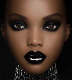 artistic makeup black - Buscar con Google