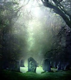 CELTIC SACRED SPACE - sacred nemeton (a place where one can go to recollect ener...