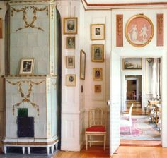 Early Gustavian style eighteenth century Swedish manor, Stockholm