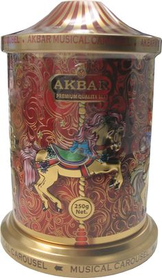 Tea gift box - AKBAR Musical Carousel
