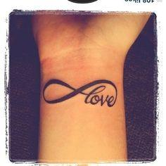 Cancer Ribbon Love Tattoos Breast cancer ribbon tattoo
