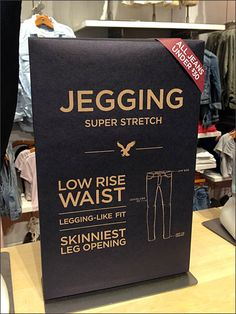 Jegging Corner Snipe Discount Pricing – Fixtures Close Up Denim Display, Pop Display, Trade Show Design, Pop Design, Denim Studio, Scrub Shop, Paper Carrier Bags, Retail Signs, Visual Merchandising Displays