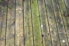 For at rengøre trædæk og fjerne grønne alger - Almbacken Garden Design