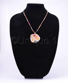 Multi-Tourmaline Necklace by Unique 1