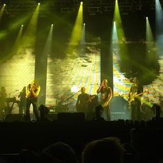 cliffmd: Sufjan Stevens joined on stage Sufjan Stevens, Follow Your Heart, Hipsters, Stage, Floor, God, Concert, Fall, Pavement