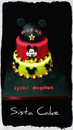 #mickeycake #birthdaycake