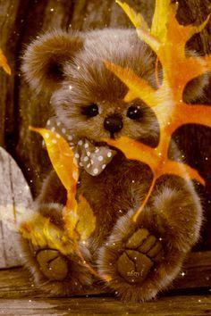 Image result for fall Gifs, Gif Animé, Animated Gif, Animals And Pets, Cute Animals, Bear Gif, Good Night Sweet Dreams, Boyds Bears, Tatty Teddy
