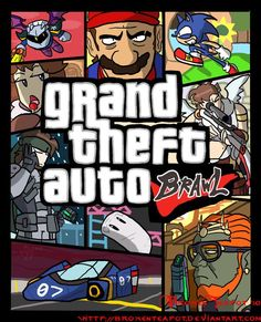 Fictional Grand Theft Auto Games