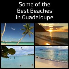 Best Guadeloupe beaches in the Caribbean islands: Inspiring photos, practical map and planning information - Have a look and dream!