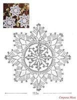 Die 85 Besten Bilder Von Schneeflocken Häkeln Schneeflocken Häkeln