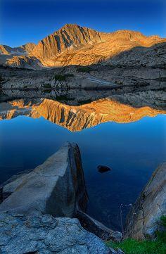 Backpacking, Shamrock Lake, Eastern Sierra's, California