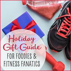 Check off all of your gifts with our holiday gift guide for the health-minded! From kitchen products to the best fitness gear, we've got you covered. #holidaygifts #giftguide #christmasgifts #healthyholidays