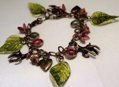 Woodland bracelet by theMrMoustacheShop on Etsy, $27.50