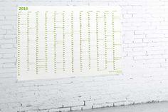 Superschöner Wandkalender DIN A0 (kostenlos downloaden) // Wehr & Weissweiler