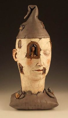 Avery Palmer, The Insomniac, Ceramic.